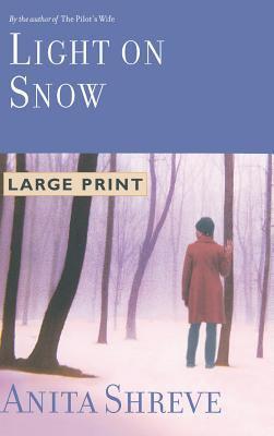 Cover image for Light on snow [large print] : a novel / Anita Shreve.