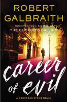 Cover image for Career of evil / Robert Galbraith.