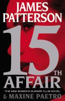 Cover image for 15th affair / James Patterson and Maxine Paetro.