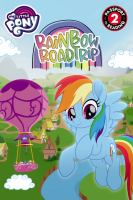 Cover image for Rainbow roadtrip / adapted by Celeste Sisler, based on the screenplay by Kim Beyer-Johnson.
