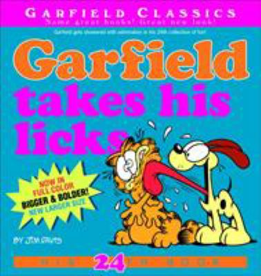 Cover image for Garfield takes his licks / by Jim Davis.