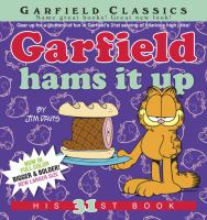 Cover image for Garfield hams it up / by Jim Davis.