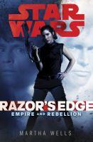 Cover image for Razor's edge / Martha Wells.