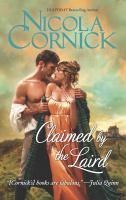 Cover image for Claimed by the laird / Nicola Cornick.