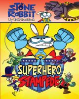 Cover image for Superhero stampede / by Erik Craddock.