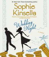 Cover image for Wedding night [compact disc] / Sophie Kinsella.