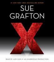 Cover image for X [compact disc] / Sue Grafton.