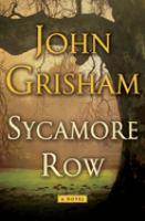 Cover image for Sycamore row / John Grisham.