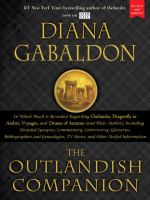 Cover image for The Outlandish companion : the first companion to the Outlander series, covering Outlander, Dragonfly in Amber, Voyager, and Drums of Autumn / Diana Gabaldon.