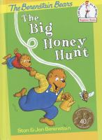 Cover image for The big honey hunt / by Stanley and Janice Berenstain.