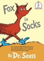 Cover image for Fox in socks / by Dr. Seuss.
