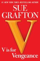 Cover image for V is for vengeance / Sue Grafton.