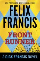 Cover image for Front runner  / Felix Francis.