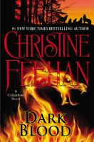 Cover image for Dark blood / Christine Feehan.