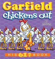 Cover image for Garfield chickens out / by Jim Davis.