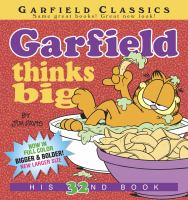 Cover image for Garfield thinks big / by Jim Davis.