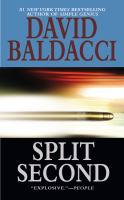 Cover image for Split second / David Baldacci.