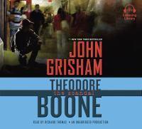 Cover image for Theodore Boone, the scandal [compact disc] / John Grisham.