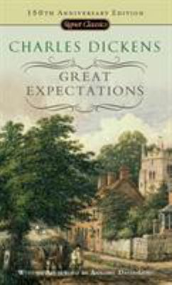 Cover image for Great expectations / Charles Dickens ; with an introduction by Stanley Weintraub and a new afterword by Annabel Davis-Goff.