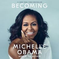 Cover image for Becoming [compact disc] / Michelle Obama.