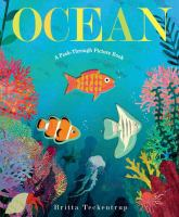Cover image for Ocean : a peek-through picture book / illustrated by Britta Teckentrup.