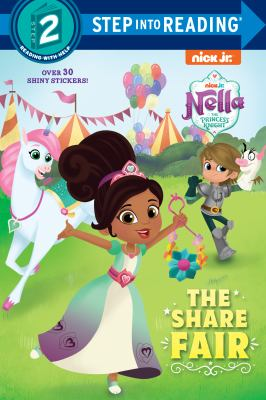 """Cover image for The share fair / by Delphine Finnegan ; adapted from the teleplay """"The Share Faire"""" by Liam Farrell ; illustrated by Nneka Myers."""