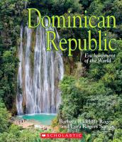 Cover image for Dominican Republic / by Barbara Radcliffe Rogers and Lura Rogers Seavey.