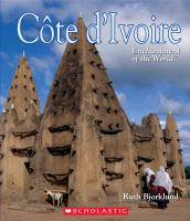 Cover image for Cote d'Ivoire / by Ruth Bjorklund.