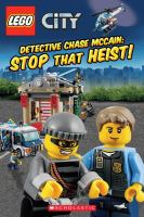 Cover image for Detective Chase McCain : stop that heist! / by Trey King ; illustrated by Kenny Kiernan.