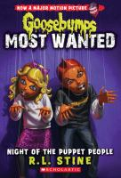 Cover image for Night of the puppet people / R.L. Stine.