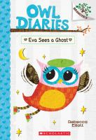 Cover image for Eva sees a ghost / by Rebecca Elliott.