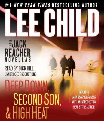 Cover image for Three Jack Reacher novellas [compact disc] / Lee Child.