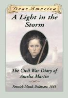 Cover image for A LIGHT IN THE STORM : THE CIVIL WAR DIARY OF AMELIA MARTIN / BY KAREN HESSE.