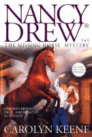 Cover image for The missing horse mystery / Carolyn Keene.