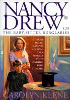 Cover image for The baby-sitter burglaries / Carolyn Keene.