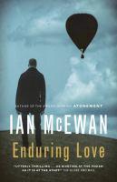 Cover image for Enduring love / Ian McEwan.