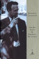 Cover image for The big sleep ; and, Farewell, my lovely / Raymond Chandler.