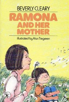 Cover image for Ramona and her mother / Beverly Cleary ; illustrated by Alan Tiegreen.