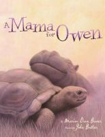 Cover image for A mama for Owen / by Marion Dane Bauer ; illustrated by John Butler.