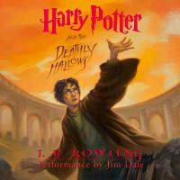 Cover image for Harry Potter and the deathly hallows [compact disc] / J.K. Rowling.