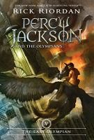 Cover image for The last Olympian [compact disc] / Rick Riordan.
