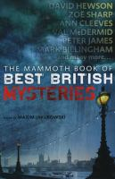 Cover image for The mammoth book of best British mysteries. Volume 9 / edited by Maxim Jakubowski.