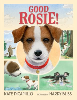 Cover image for Good Rosie! / Kate DiCamillo ; pictures by Harry Bliss.