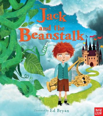 Cover image for Jack and the beanstalk / illustrated by Ed Bryan.