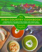 Cover image for An Irish country cookbook / Patrick Taylor with Dorothy Tinman.