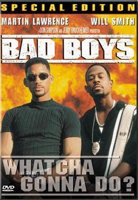 Cover image for Bad boys [DVD] / Columbia Pictures ; story by George Gallo ; screenplay by Michael Barrie & Jim Mulholland and Doug Richardson ; produced by Don Simpson & Jerry Bruckheimer ; directed by Michael Bay.