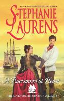 Cover image for A buccaneer at heart / Stephanie Laurens.