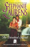 Cover image for The daredevil snared / Stephanie Laurens.