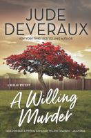 Cover image for A willing murder / Jude Deveraux.