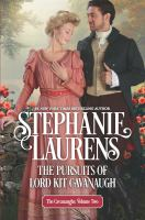 Cover image for The pursuits of Lord Kit Cavanaugh / Stephanie Laurens.